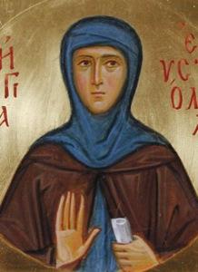 Евстолия Константинопольская, прп. ?>