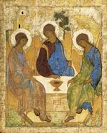 Святая Троица. Андрей<br /> Рублев