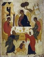 Троица Ветхозаветная. День Святой Троицы, иконы