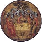 Троица. 1671. Никита Павловец День Святой Троицы, иконы