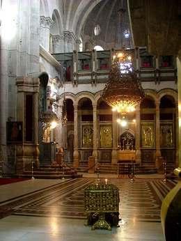 WhiteRabbit.  Иерусалим - Храм Гроба Господня.  Вперёд.