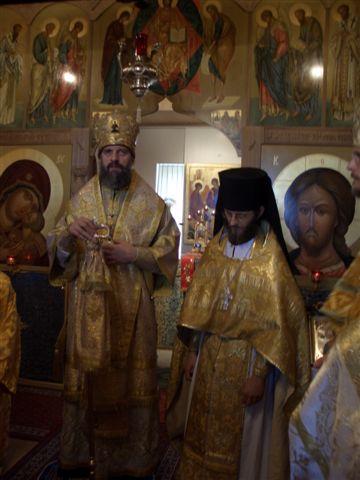 Архиепископ Корсунский Иннокентий в Домпьерском монастыре