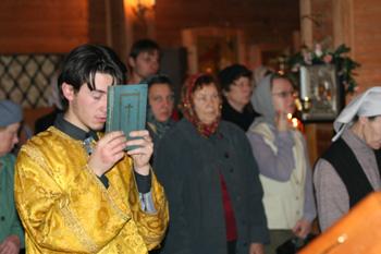 Чтец перед чтением Шестопсалмия