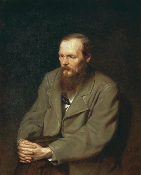 портрет работы Перова
