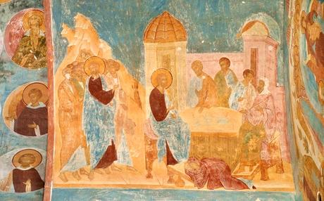 Дионисий Проклятие  смоковницы; Пир в доме Симона фарисея