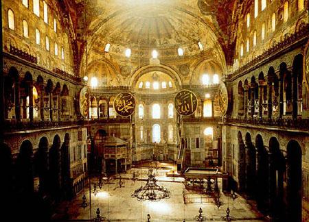 В храме Святой Софии