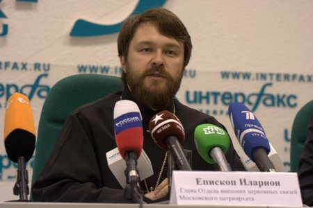 Председатель Отдела внешних церковных связей Московского Патриархата архиепископ Иларион