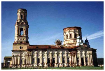 Современный вид Михаило-Архангельского собора