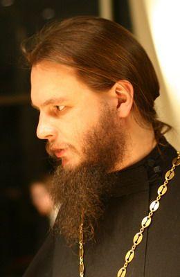 Иерей Игорь Фомин, священник храма Казанской иконы Божией Матери на Красной площади