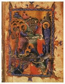 Икона Воскрешение Лазаря Четверодневного