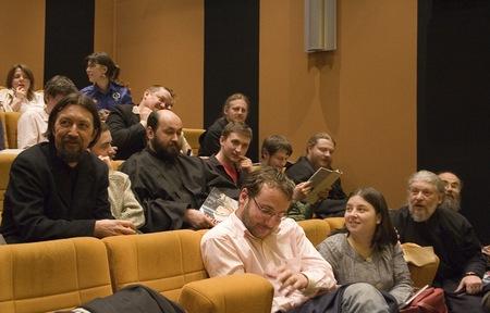 Обсуждение фильма. Фото Валерии Ефановой