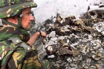 Сербский солдат