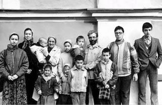 Семья о.Александра Ильяшенко