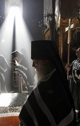 Литургия Преждеосвященных Даров. Фото: Патриархия.ру