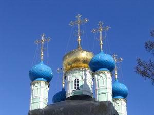 Купола Оптиной. Фото: Konon