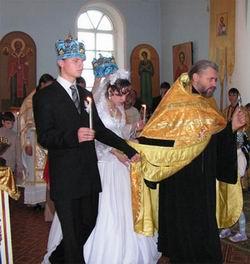 Венчание старшего сына www.stobitel.ru