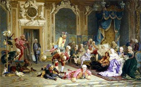 Валерий Якоби (1836-1901). Шуты при дворе императрицы Анны Иоанновны. 1872