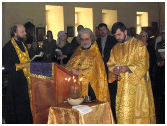 Таинство Елеосвящения, или соборование Soborovanie-1