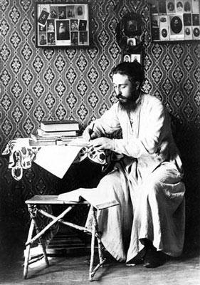Священник Митрофан Сребрянский. Орел, 1890-е годы