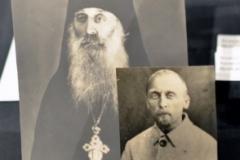 Архимандрит Сергий (Василий Петрович Савельев) – в облачении и в заключении в лагере.