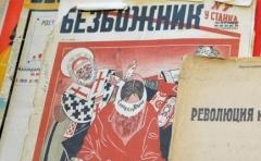 Печатные издания антирелигиозной пропаганды «Безбожник», «Безбожник у станка» и др., выпускались в этот период огромными тиражами.