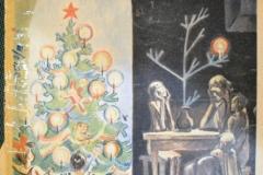 Газета «Безбожник» 1.05.1941. На первой полосе портрет И. Джугашвили - Сталина и статья «Народы за мир - Церковь за войну», обличающая христианские церкви стран Европы, как поджигателей войны. Через несколько месяцев позиция Сталина изменится, а антирелигиозные СССР издания закроют.