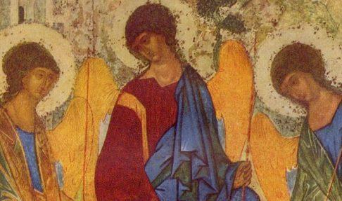 """""""...Предстоя Святей Троице"""". О передаче троичного догмата в иконах"""