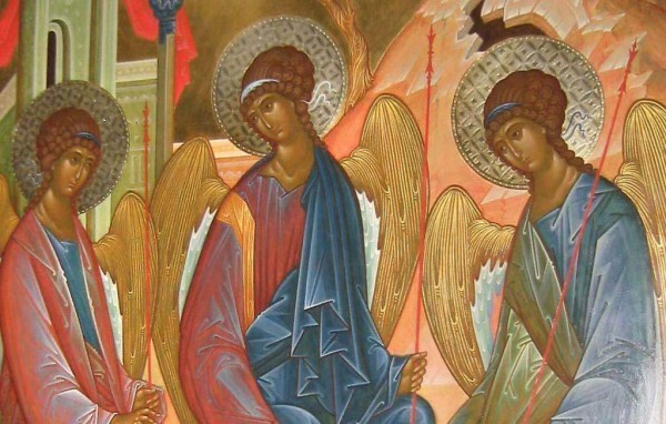 Преподобный Феодор Студит. Поучение на день Пятидесятницы