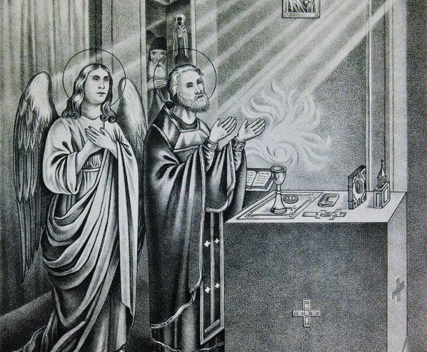 Проживать литургию так же, как преподобный Сергий