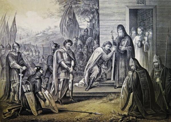 Иконография Преподобного Сергия Радонежского