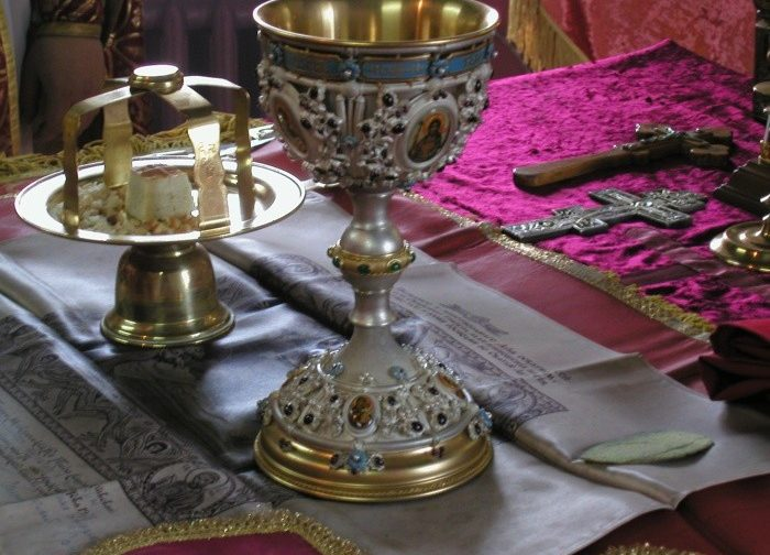 Текст пасхальной утрени и литургии