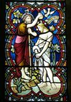 Крещение Господне - фреска
