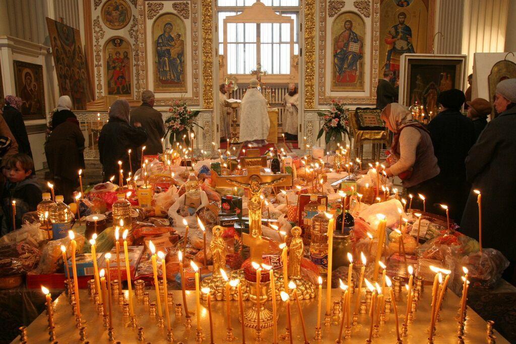 Молитвы о поминовении усопших