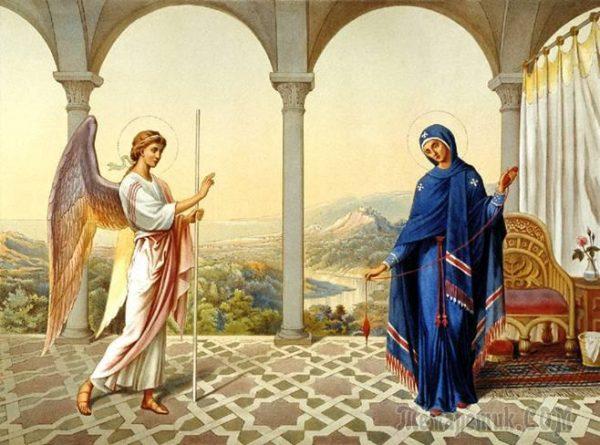 Благовещение Пресвятой Богородицы в 2017 году – 7 апреля
