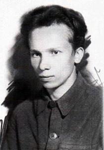 Глеб Каледа в день призыва в армию. 10 августа 1941 г.