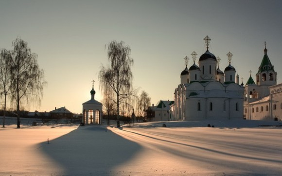 Муромский Спасо-Преображенский монастырь был отреставрирован в 2000-2009 гг. Фото: photo-club.ru, Вячеслав bine