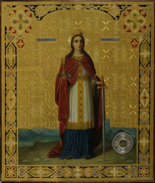 Святая Варвара - икона Великомученицы