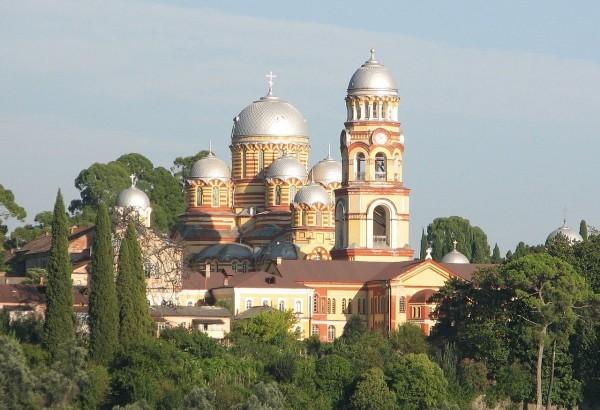 Целитель Пантелеймон - Новоафонский монастырь в Абхазии
