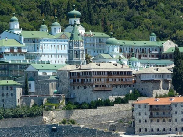 Целитель Пантелеймон - Монастырь св. Пантелеимона