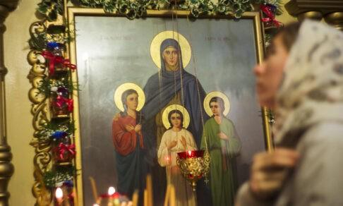 Вера, Надежда, Любовь и мать их София — когда мучениками становились дети