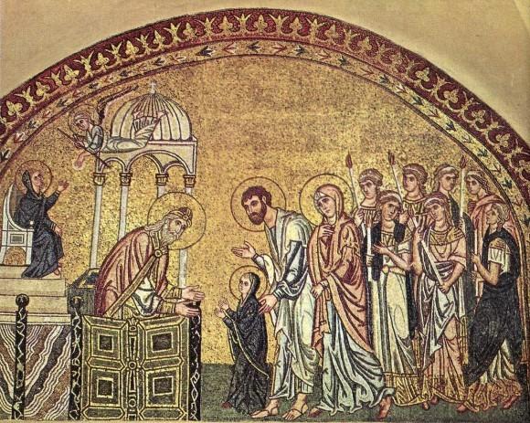 Тропарь и кондак Введения во храм Пресвятой Богородицы
