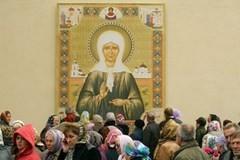 Святая Матрона Московская. На Таганскую, просить и плакать