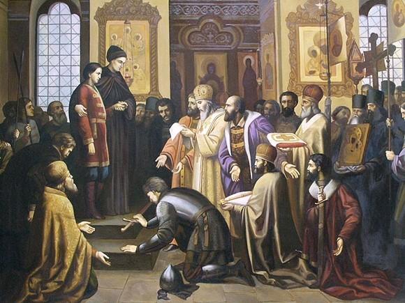 Михаил Феодорович. Венчание на царство | Православие и мир