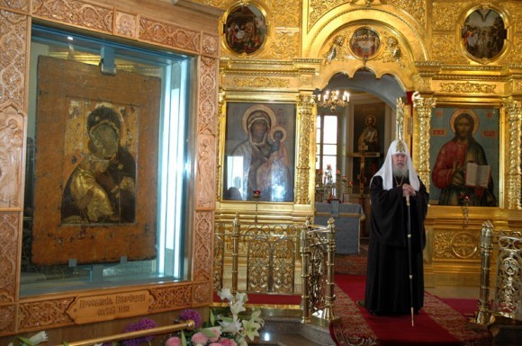Владимирская икона Божией Матери в храме свт. Николая в Толмачах - 2