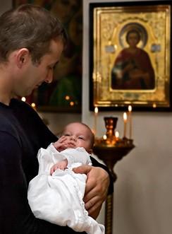 крестить ребенка