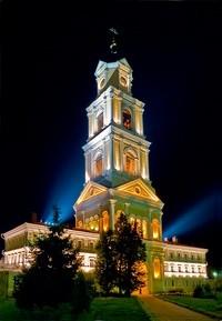 Монастырь Дивеево - колокольня