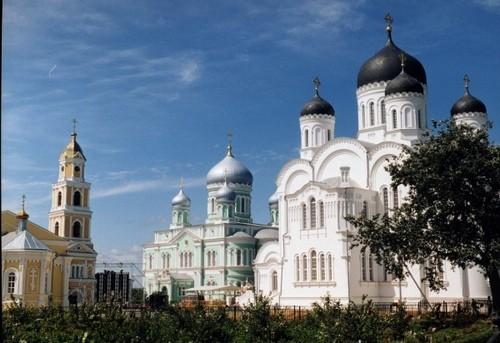 Монастырь Дивеево - Преображенский собор