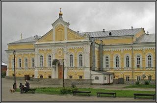 Монастырь Дивеево - трапезный храм