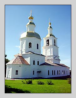 Монастырь Дивеево - Храм Казанской Иконы Божией Матери