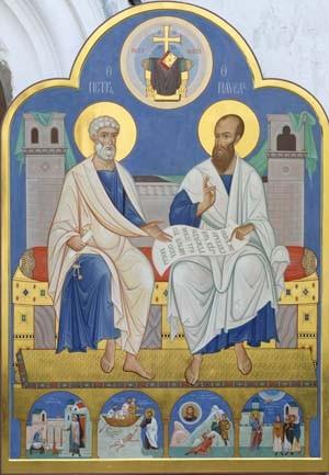 Апостолы Петр и Павел - Церковь вспоминает 12 июля